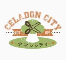Celadon City Gym by cassdowns