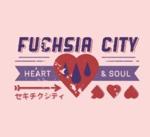 Fuchsia City Gym  T-Shirt