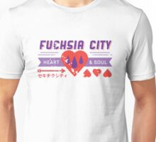 Fuchsia City Gym  Unisex T-Shirt
