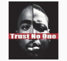 "Tupac & Biggie ""Trust No One"" Shirt, SALE 30%  by DopeDesigns"