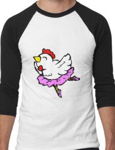 En Pointe Men's Baseball ¾ T-Shirt