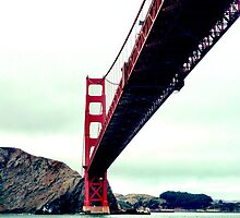 Golden Gate Bridge iPhone Case by aschwall33