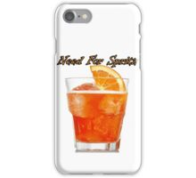 Need for spritz iPhone Case/Skin