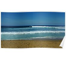 Bells Beach on a Clear Day Poster