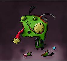 zombie gir Photographic Print