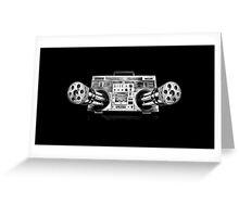 Radio-gun Greeting Card