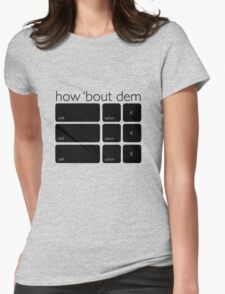 How Bout Dem Apples Womens Fitted T-Shirt