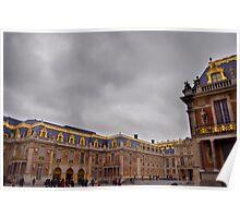 Versailles Courtyard Poster