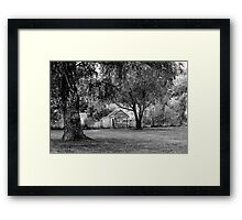 Abandoned House Mole Creek Tasmania Framed Print