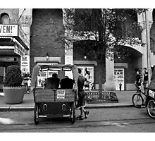 Waiting on a Fare Photographic Print