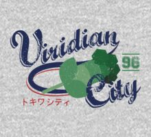 Viridian City Gym by Cassandra  Downs
