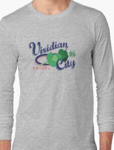 Viridian City Gym Long Sleeve T-Shirt