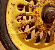 Yellow Wheel by Bami