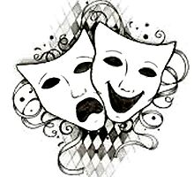 Theatre Masks by Emma Anderson