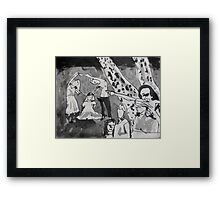 The Rosy Framed Print