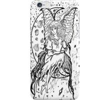 girl in the moon iPhone Case/Skin