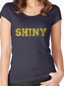 Shiny... Women's Fitted Scoop T-Shirt