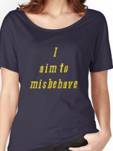 Misbehave... Women's Relaxed Fit T-Shirt