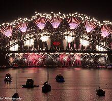 Sydney New Year Firework #01 by Jonathan Choi