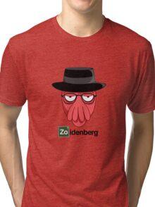 Zoidenberg on light colors Tri-blend T-Shirt