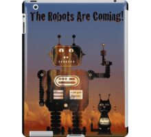 The Robots are coming! iPad Case/Skin