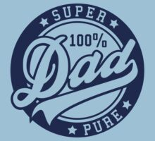 100 percent PURE SUPER DAD Navy by MILK-Lover