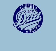 100 percent PURE SUPER DAD Navy Unisex T-Shirt