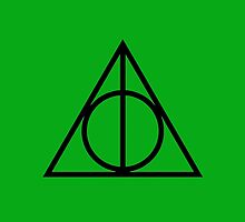 The Deathly Hallows - Green by Emma Davis