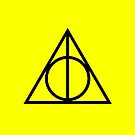 The Deathly Hallows - Yellow by Emma Davis