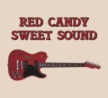 Red Candy Sweet Sound Guitar by felinson