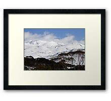 Snowy Mountains National Park Framed Print