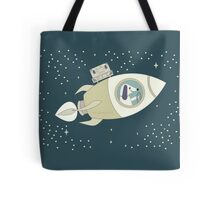 CAPTAIN MUTT GOES ON VACATION Tote Bag