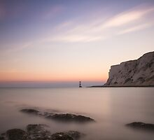 Beachy head sunset, 300 second exposure by willgudgeon