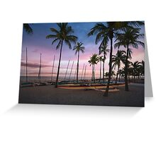 Fort Lauderdale Beach Greeting Card