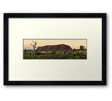 Uluru Early Morning  Framed Print
