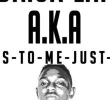 Kendrick Lamar - F##kin' Problems Sticker