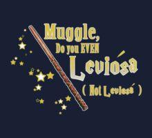 Muggles can't Leviosa Kids Tee