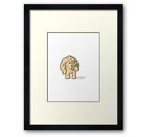 Nuclear Throne - Steroids - HIGH QUALITY Framed Print