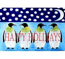 HAPPY HOLIDAYS 13 Photographic Print
