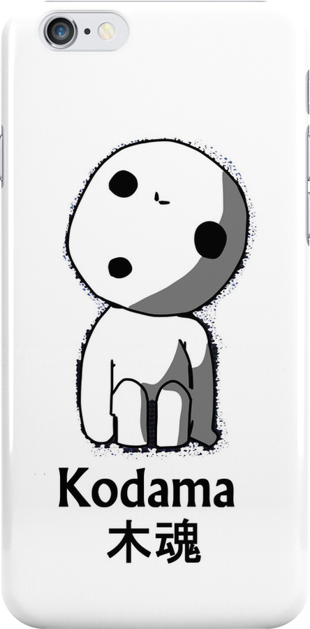 Kodama Phone Case by Zotheculs