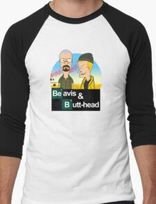Breaking Beavis  Men's Baseball ¾ T-Shirt