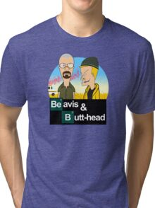 Breaking Beavis  Tri-blend T-Shirt