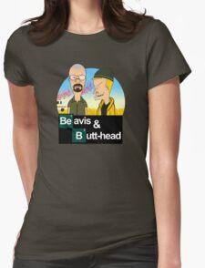 Breaking Beavis  Womens Fitted T-Shirt