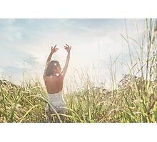 Dancing in Nature Photographic Print