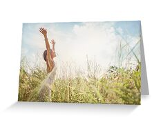 Nature Dance Greeting Card
