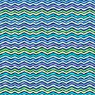 Multi Colored and Layered Chevron by silvianeto