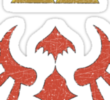 Vintage Look Zelda Link Hylian Shield Graphic Sticker