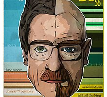 Heisenberg Vs. Walter White by stylishtech