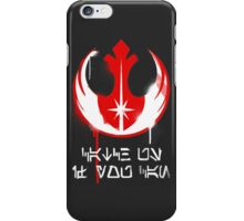 Catch us if you can iPhone Case/Skin