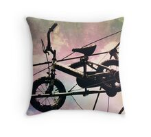 Flying High in the Sky Throw Pillow